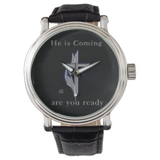 Jesus is coming wristwatches