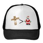 Jesus is Greater than Santa Trucker Hat