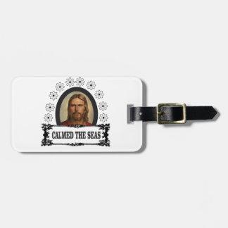 jesus is king luggage tag