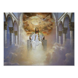 Jesus Is King Poster