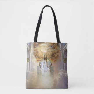Jesus Is King Tote Bag