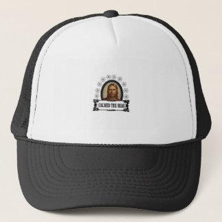 jesus is king trucker hat