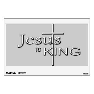 Jesus is King Wall Sticker