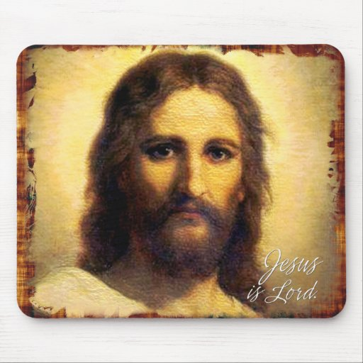 Jesus is Lord A1 Mousepad