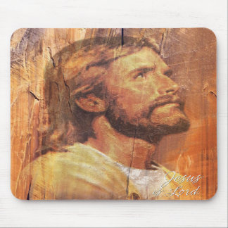 Jesus is Lord A3 Mousepad
