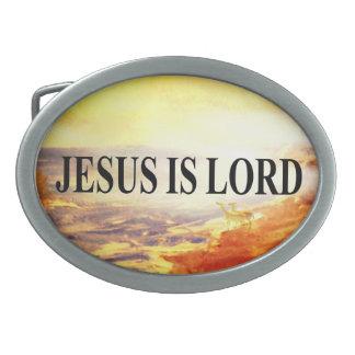 Jesus is Lord Belt Buckle