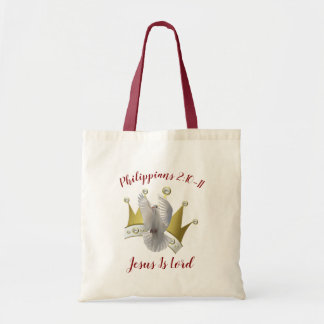 Jesus Is Lord Budget Tote