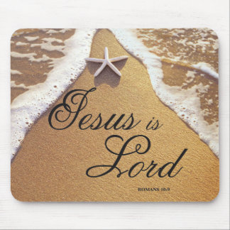Jesus Is Lord Mouse Pad