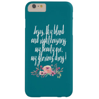 Jesus Is My Beauty Barely There iPhone 6 Plus Case
