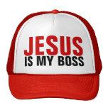 Jesus Is My Boss Trucker Hat