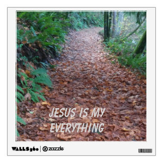 Jesus is My Everything Decal