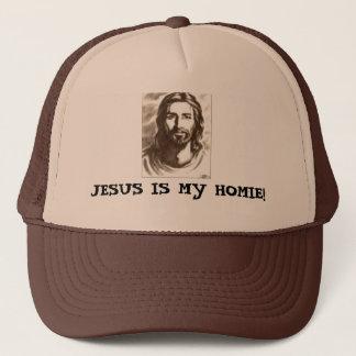 JESUS IS MY HOMIE! TRUCKER HAT