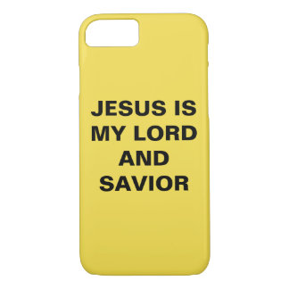 """""""Jesus Is My Lord And Savior"""" iPhone 8/7 Case"""