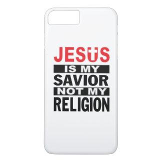 Jesus Is My Savior Not My Religion iPhone 7 Plus Case