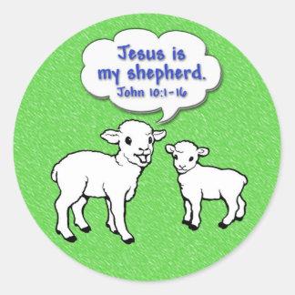 Jesus is My Shepherd Sticker