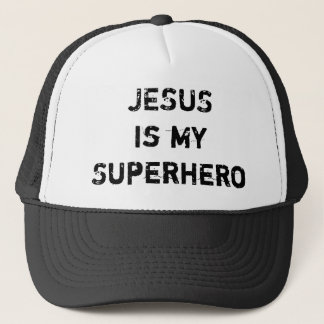 JESUS is my Superhero Trucker Hat