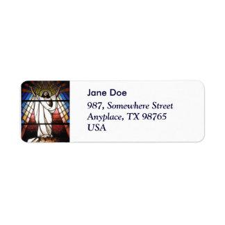 Jesus is Our Savior Return Address Label