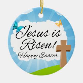 Jesus is Risen, Christian Easter Ornament