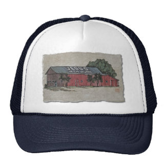 Jesus Is The Answer Barn Hat