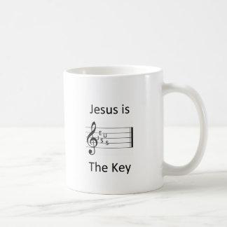 Jesus Is The Key Coffee Mug