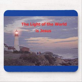 Jesus is the Light of the World! Mouse Pad