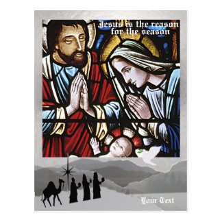 Jesus is the Reason for the Season - Fifth Version Postcard