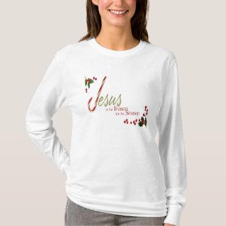 Jesus is the Reason Ladies Long Sleeve T Shirt