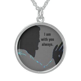 JESUS IS WITH YOU necklace
