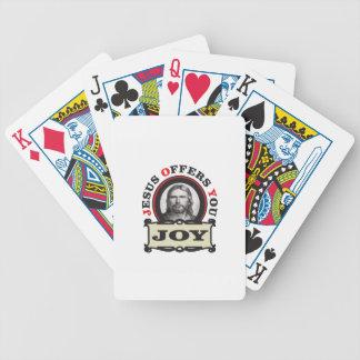 jesus joy yeah bicycle playing cards