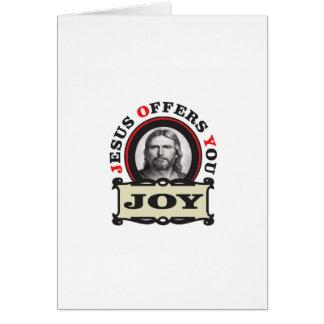 jesus joy yeah card
