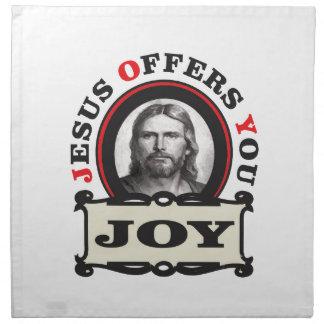 jesus joy yeah napkin
