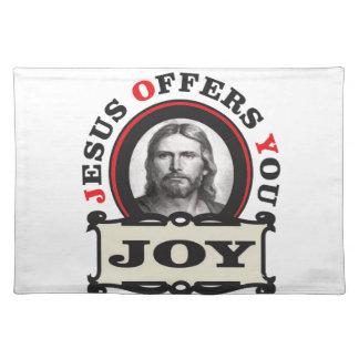jesus joy yeah placemat