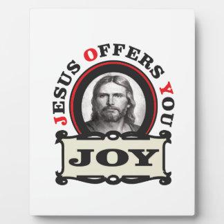 jesus joy yeah plaque