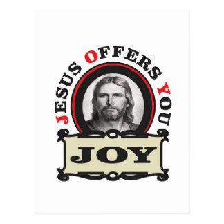 jesus joy yeah postcard