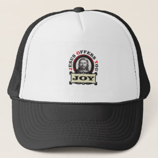 jesus joy yeah trucker hat