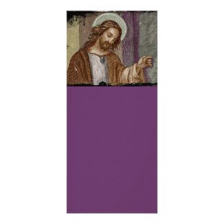 Jesus Knocking on Door Rack Card
