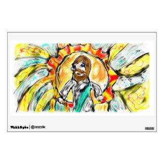 Jesus light wall sticker