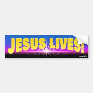 Jesus Lives! Bumper Sticker