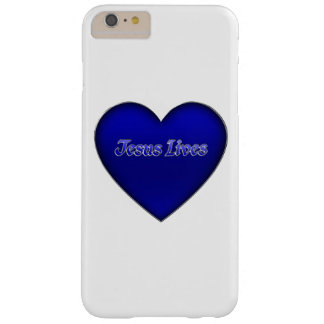 Jesus Lives Heart Christian Barely There iPhone 6 Plus Case