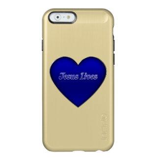 Jesus Lives Heart Christian iPhone 6 Case Incipio Feather® Shine iPhone 6 Case