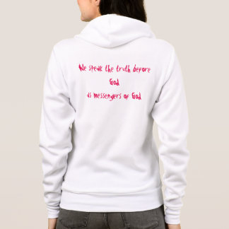 Jesus lives Women's Canvas Fleece Zip Hoodie