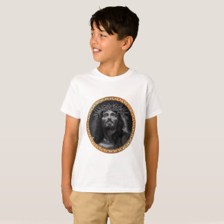 Jesus looking in the heavens T-Shirt