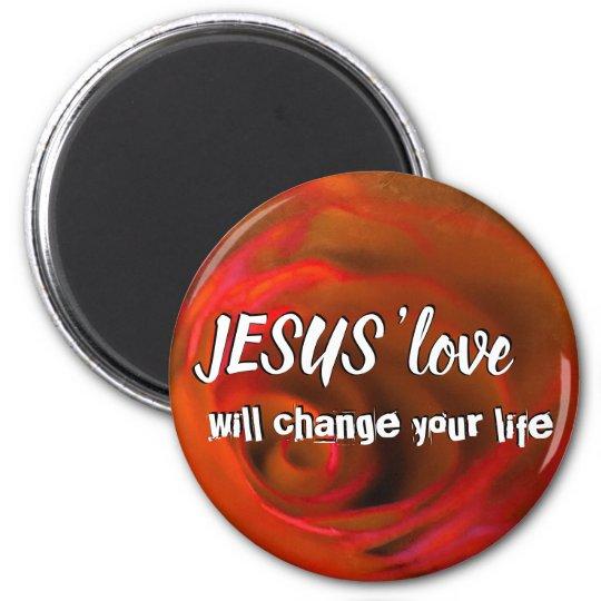 JESUS 'love Magnet