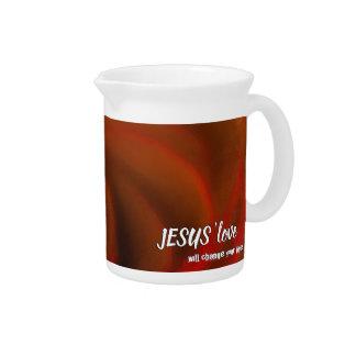 JESUS 'love Pitcher