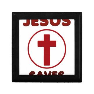 Jesus loves, Christ Christianity Religion Cross.pn Gift Box