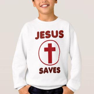 Jesus loves, Christ Christianity Religion Cross.pn Sweatshirt