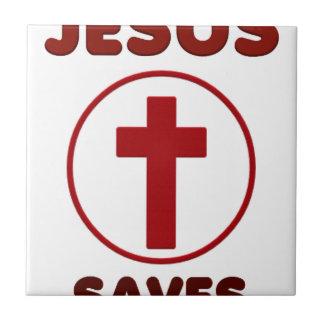 Jesus loves, Christ Christianity Religion Cross.pn Tile