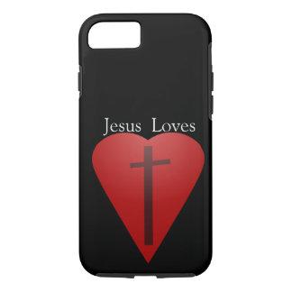 Jesus loves iPhone 8/7 case