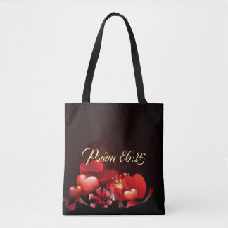 Jesus Loves Me  All-Over-Print Tote Bag, Medium