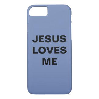 """Jesus Loves Me"" Apple iPhone 8/7 Case"